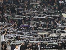 Borussia Moenchengladbach, rovinata coreografia ai tifosi