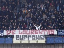 Striscione contro De Laurentiis, Daspo a due napoletani
