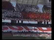Collage coreografie BARI calcio
