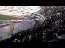 Chievo - Fiorentina 1-2 18.01.15 Tifosi CHIEVO in curva