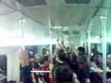 Milan Tifosi, Milan vs Liverpool Finale Metro part 4