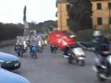 Lucchese Pisa rientro in motorino