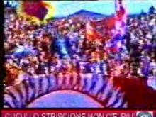 CUCU' LO STRISCIONE NON C'E' PIU'