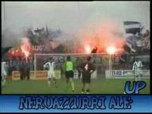 Pisa ultras dancing and singing the Lambada
