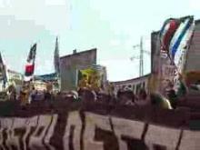 Ultras Sampdoria-protesta fuori dallo stadio(Samp-Atalanta)
