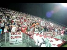 La Curva Sud Lauro Minghelli durante Arezzo-Pordenone 1-0