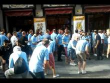 Manchester City fans in Madrid Yaya Kolo song
