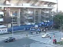 Tifosi Inter fuori dal Bentegodi