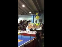 Scenografia degli Ultras Ceglie 2013 a Mesagne