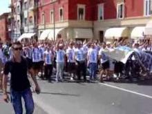 Manifestazione Ultras BO - Bresciani - 19-06-04