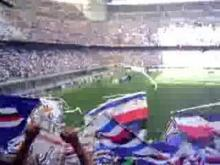 Sampdoria ultras at Giuseppe Meazza